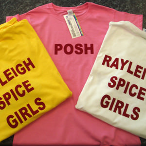 Clothing services from Crystal Sign and Print