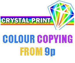 Copying services from Crystal Sign and Print in Billericay, Essex