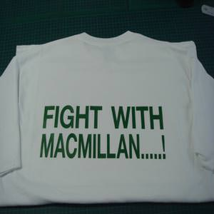 Fight with Macmillan T-shirt