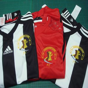 Football Kit Print Embroidery