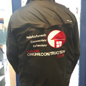 Original Construction Jacket Printing