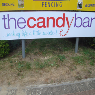 The Candy Bar Signage Print