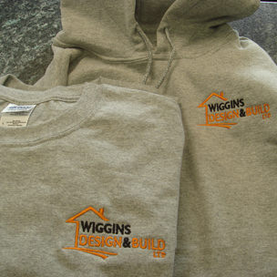 Wiggins Design & Build Ltd Embroidery