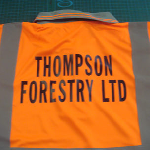 Thompson Forestry Ltd Printed Clothing