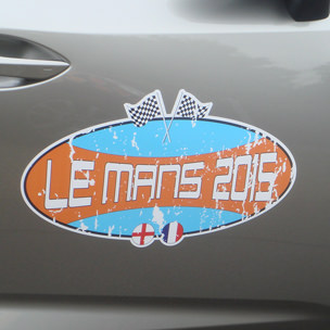Le Mans 2015 Vehicle Signage
