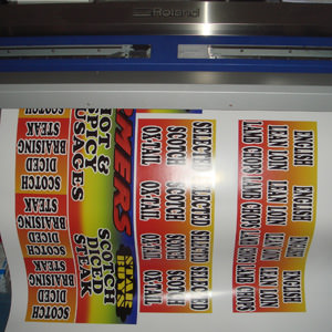 Printing services from Crystal Sign and Print