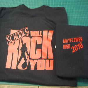 Schools Will Rock You T-shirts