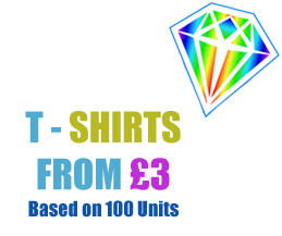 Affordable T-Shirt Printing from Crystal Sign & Print - Billericay, Essex